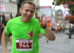 Paweł Górka Radom biegnie w półmaratonie Radomskiego Czerwca